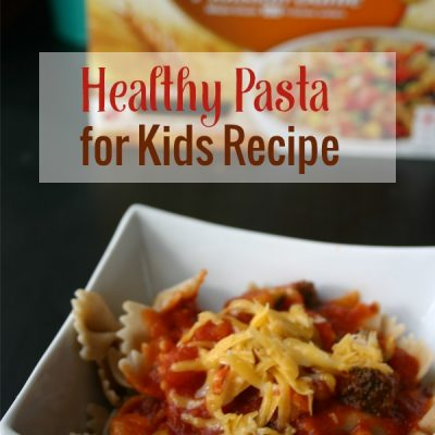 Healthy Pasta Recipe for Kids