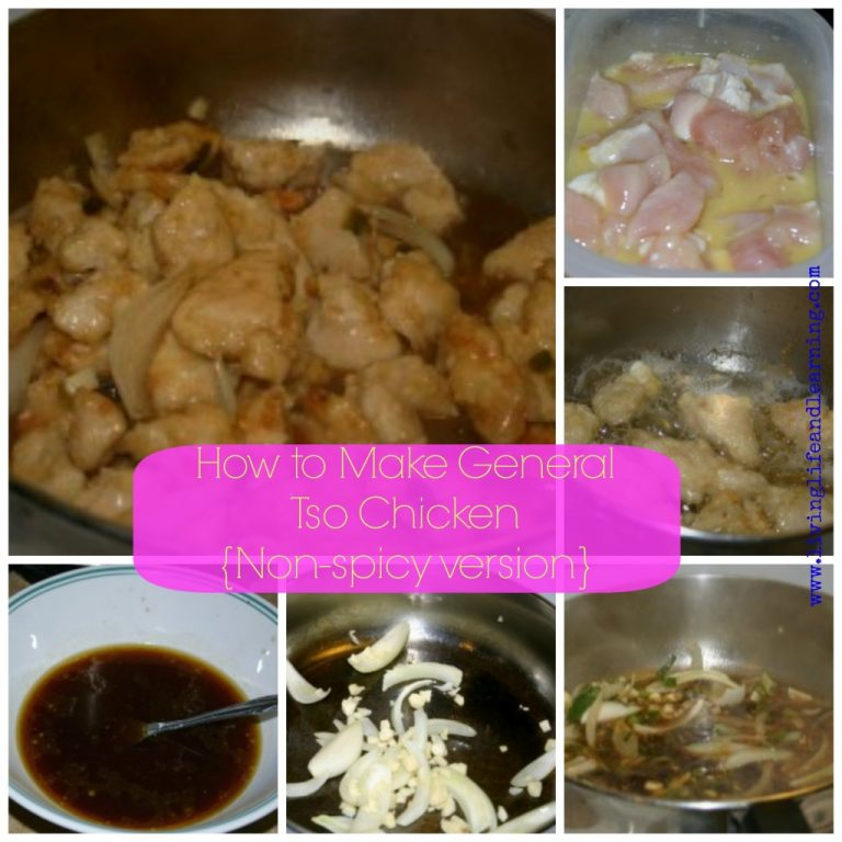 How to Make General Tso Chicken – Non-spicy version