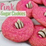 Satisfy that sweet tooth with these beautiful pink sugar cookies recipe, a mouth watering treat for the whole family and it's so easy to make.