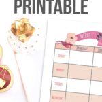 Meal Planner Printable