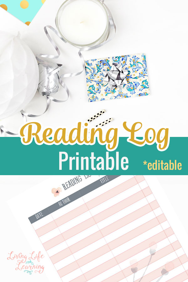 Keep track of all of the books you'll get to read with this handy pretty reading log printable, work towards your goal of reading a new book each week.