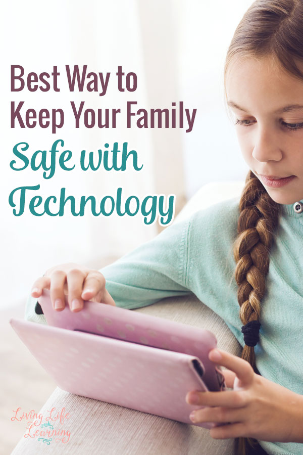 Keep your piece of mind knowing that your children are safely browsing the internet, this is the best way to keep your family safe with technology