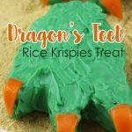 Get into the adventure spirit and create these Dragon's Feet Rice Krispies Treat to impress your kids for a birthday party or Halloween scare.