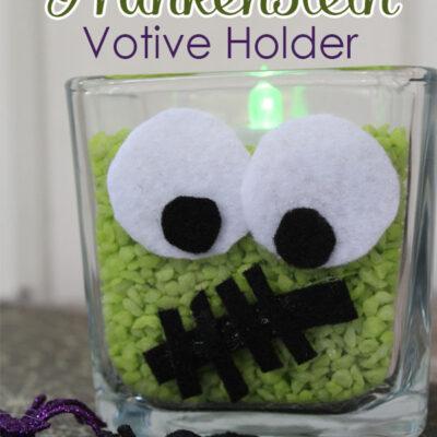 Frankenstein Votive Holder