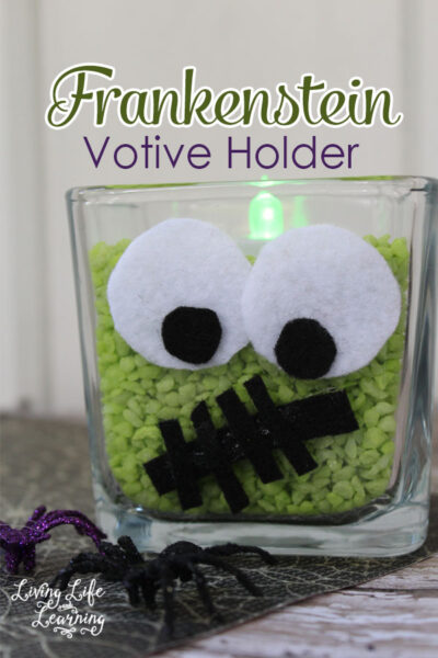 Frankenstein Votive Holder