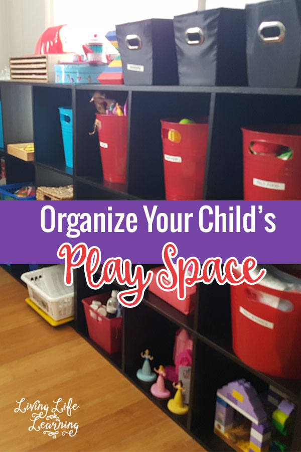 How to Organize Your Child's Play Space