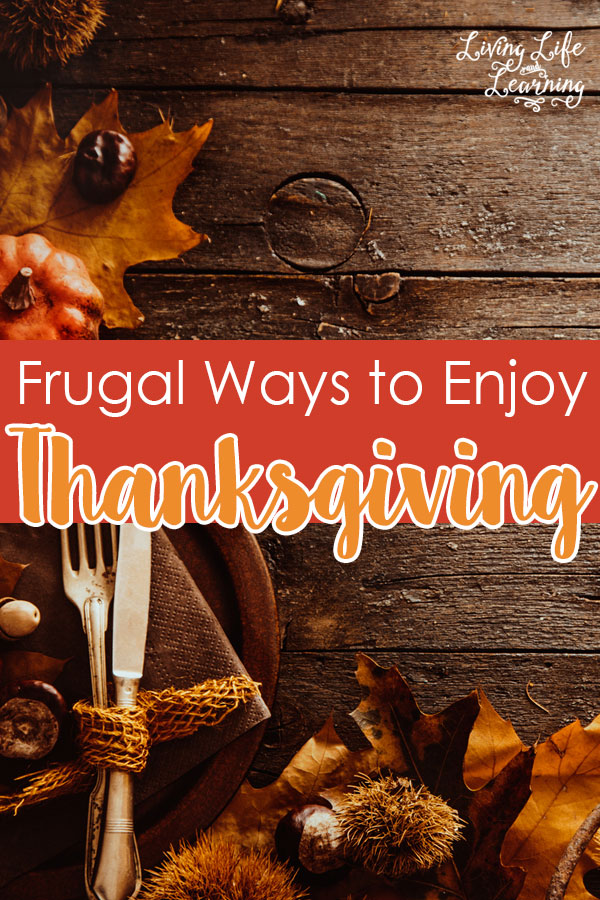 Frugal Ways to Enjoy Thanksgiving