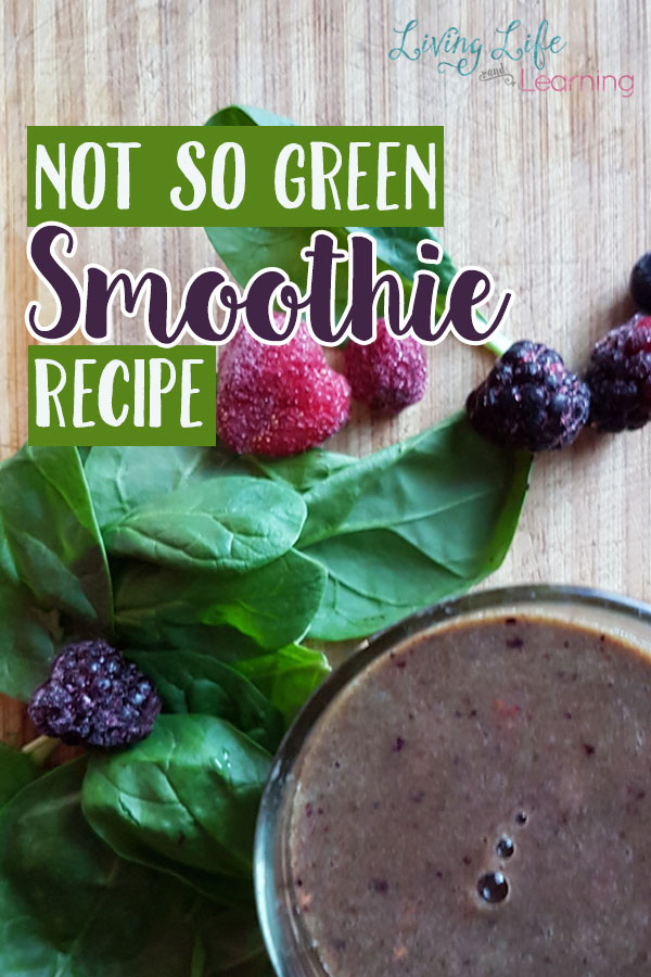 If you're not a green smoothy lover try this not so green smoothy recipe to get your nutrients in and get a healthy start to your day.