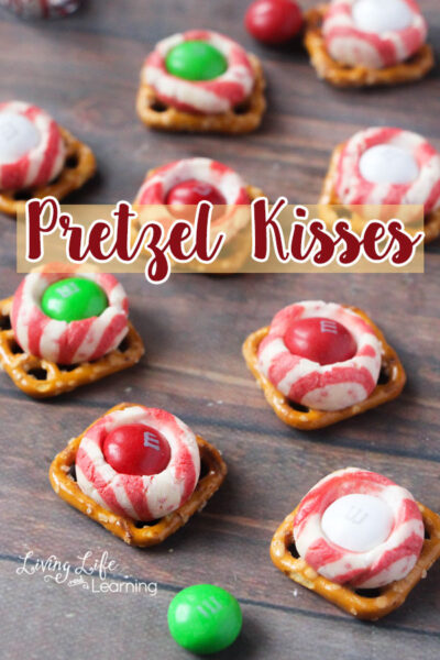 You will find out how to make these festive pretzel kisses. And you will learn just why these pretzel kisses make the best holiday snacks.