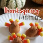 Thanksgiving Snack for Kids