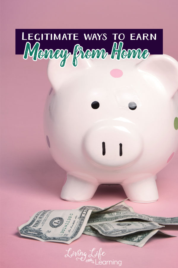 If you're tired of spending hours online to only earn a couple pennies, you'll love these legitimate ways to earn money from home.