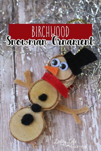 Birchwood Snowman Craft