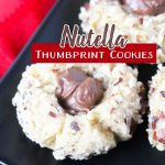 We love simple, yummy and quick snacks to make with the kids. This Nutella Thumbprint Cookies recipe is the perfect one! They are delicious!