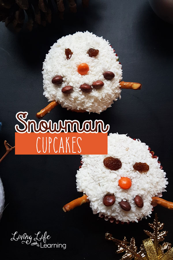 Snowman Cupcake Decorating Ideas