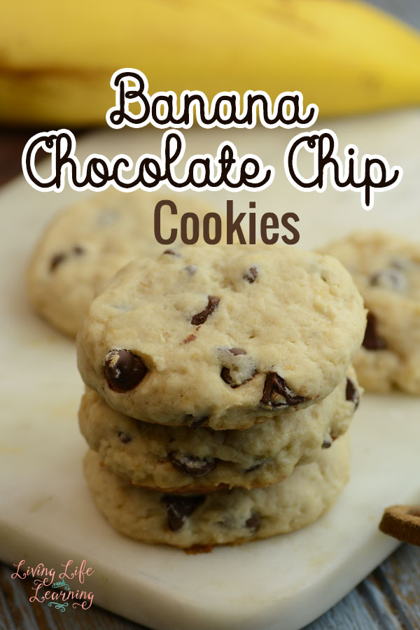 Mouth watering Banana chocolate chip cookies that your kids won't be able to resist, a simple twist to your favorite chocolate chip cookies recipe.