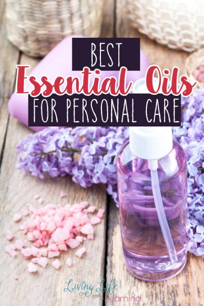 Whether you're making homemade soap, bath salts, or lip balm, you want the best essential oils for personal care so you always have them on hand.