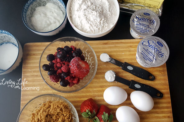 simple mixed berries cheesecake recipe