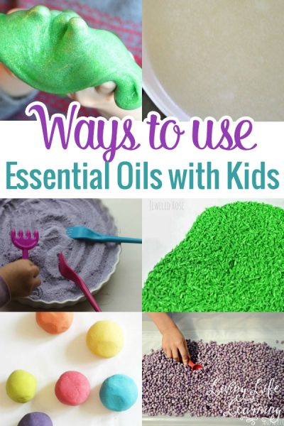 We love using essential oils at home, so I made a list of ideas for you on ways to use essential oils with kids so you can use them, too.