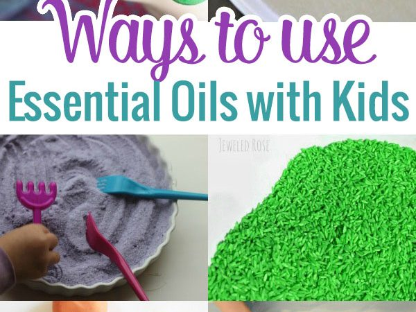 Ways to Use Essential Oils With Kids