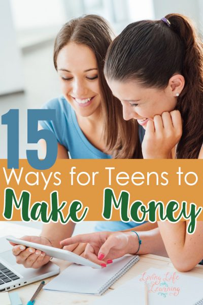Your teen doesn't need a part-time job to make money. These 15 ways for teens to make money can be started anytime and depends on how hard they work.