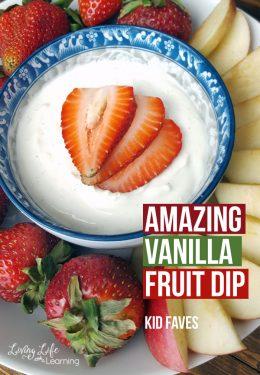 Amazing Vanilla Fruit Dip Recipe