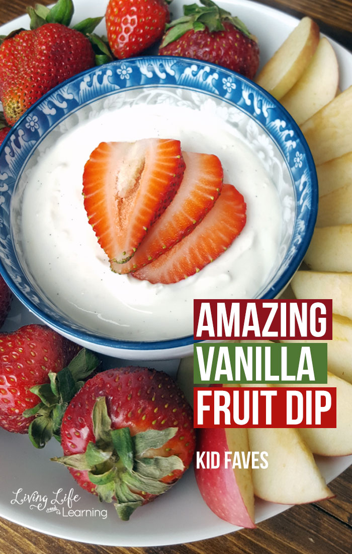 Amazing Vanilla Fruit Dip Recipe