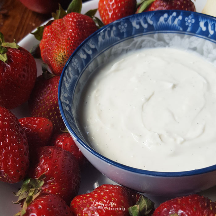 Amazing Vanilla Fruit Dip Recipe for the whole family