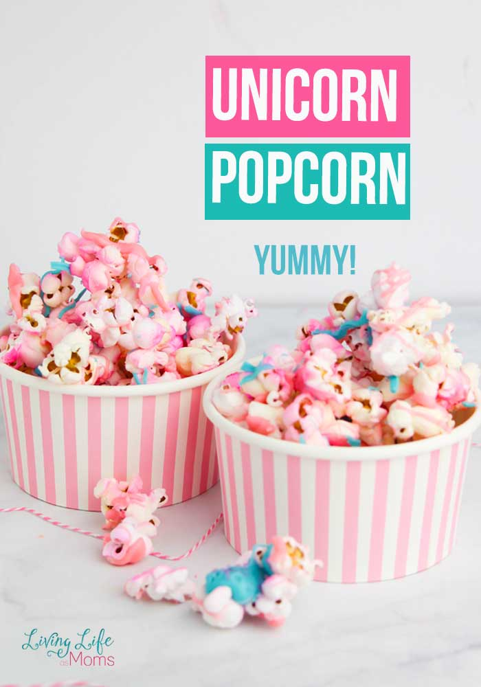 Do your kids love unicorns? They seem to be the sensation with children lately. Here is a fun and delicious Unicorn Popcorn Recipe!