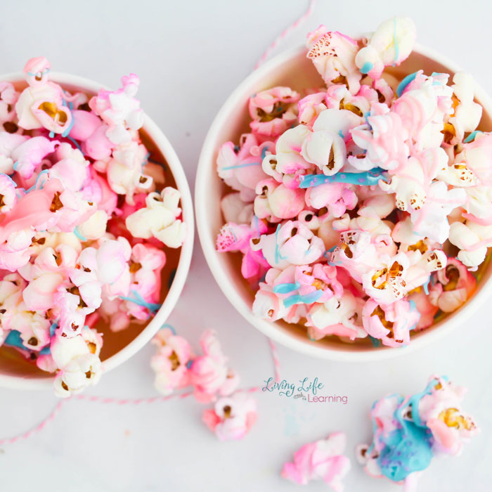 Yummy unicorn popcorn recipe