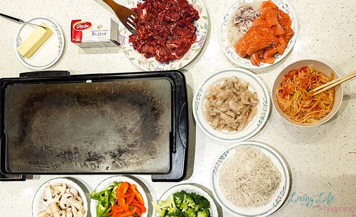 Vietnamese butter beef ingredients