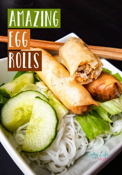 Make this amazing egg roll recipe and it will become a huge family favorite - it takes a bit of prep and cooking, but it's oh so worth it.