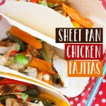 Want an easy and delicious meal to serve your family? Try this super simple sheet pan chicken fajitas recipe that your family will love.
