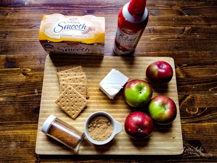 Easy no-bake apple cheesecake recipe