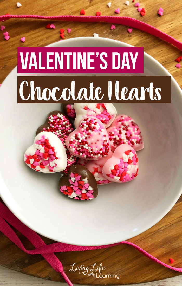 Make your own gift for a loved one with these Valentine's day chocolate hearts. Surprise someone with a delicious but easy dessert to satisfy their sweet tooth.