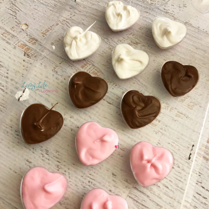 Valentine S Day Chocolate Hearts Living Life As Moms