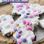 Unicorn Oreo Pretzel Bark Recipe - Whether you are just craving something magical, this no-bake unicorn candy bark is just for you!