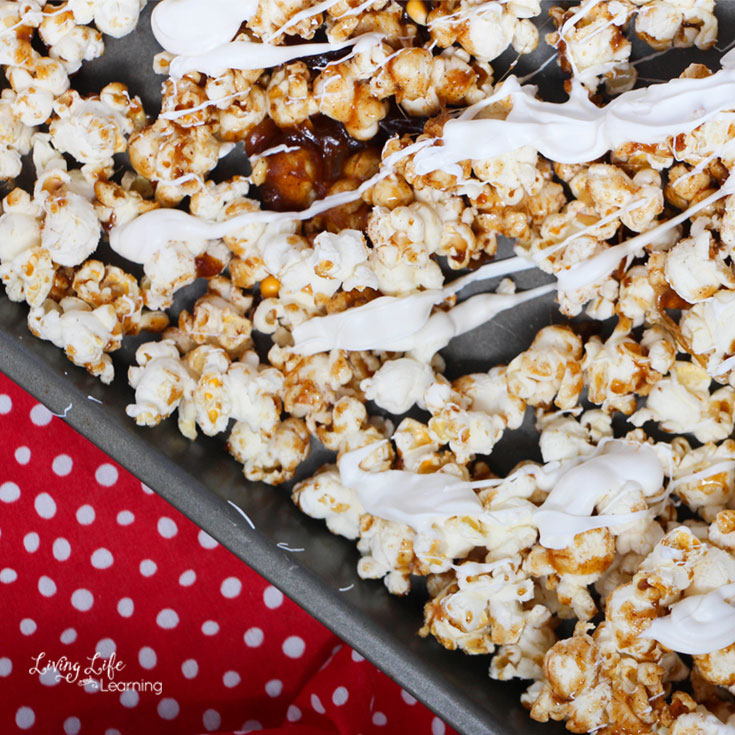 Delicious cinnamon popcorn recipe