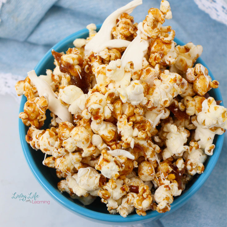 Simple cinnamon popcorn recipe