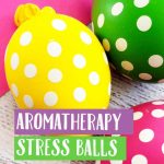 These Aromatherapy Stress Balls are easy to make and can help control stress and anxiety for you and your kids. Using simple ingredients and essential oils.