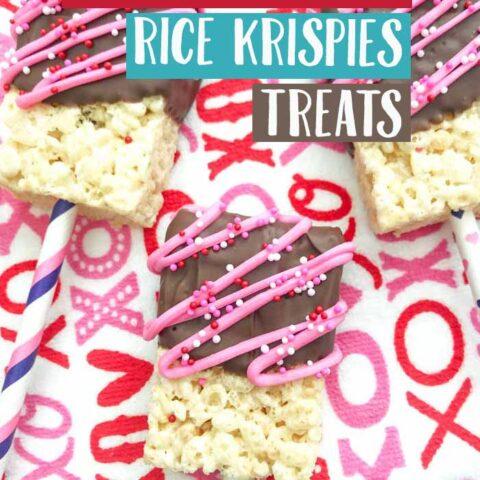 Valentine's Day Rice Krispies Treats