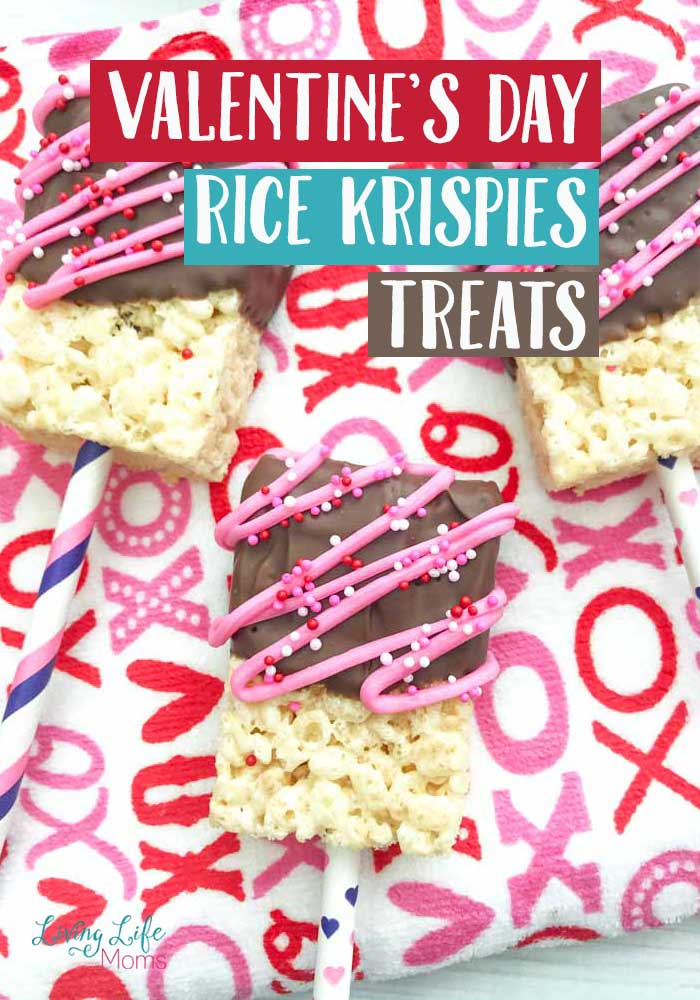 Valentine's day Rice Krispies Treats