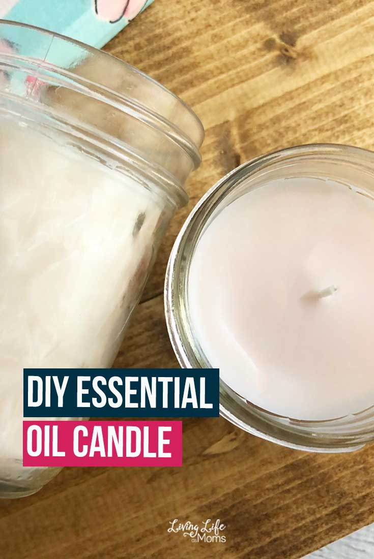 You will love a DIY Essential Oil Candle. You can customize the scent, may have health benefits from using essential oils and so much more!