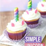 Easy Unicorn Cupcakes