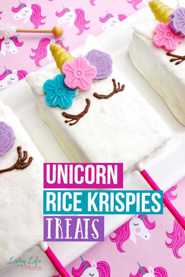 Unicorn Rice Krispies Treats