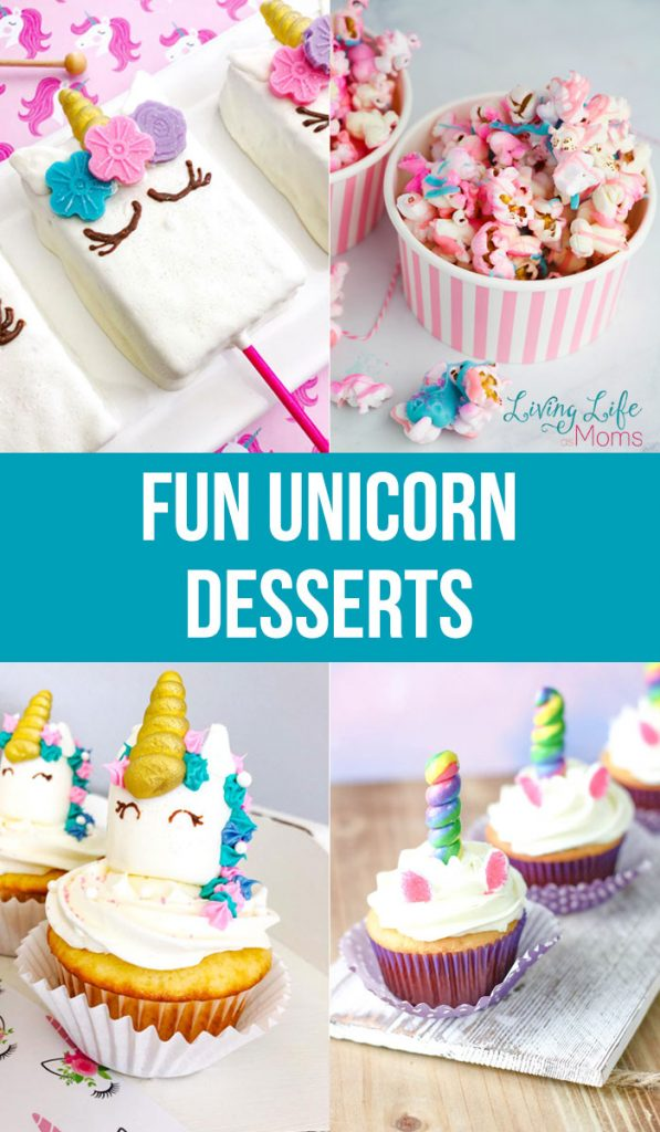 Fun unicorn snacks to make at home for a party and any celebration - bring some unicorn magic into your day today with these delicioust unicorn desserts.
