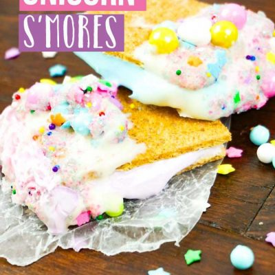 Unicorn S'mores – The Perfect Indoor Treat