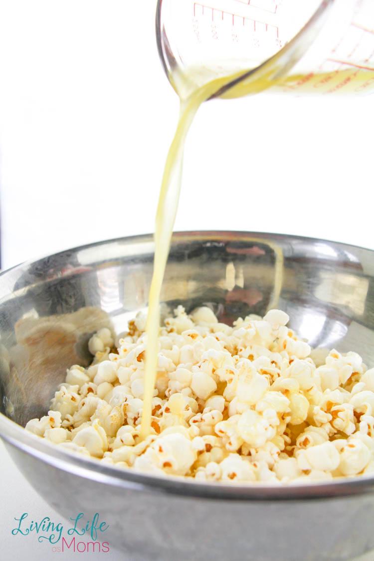 button on popcorn