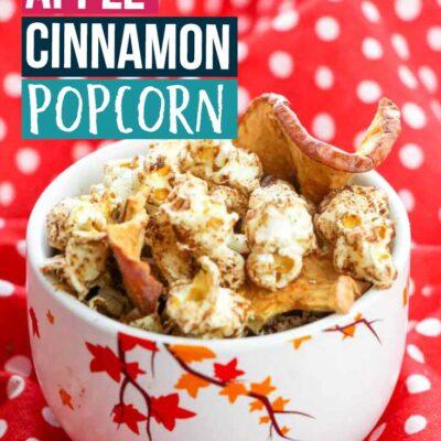 Simple Apple Cinnamon Popcorn