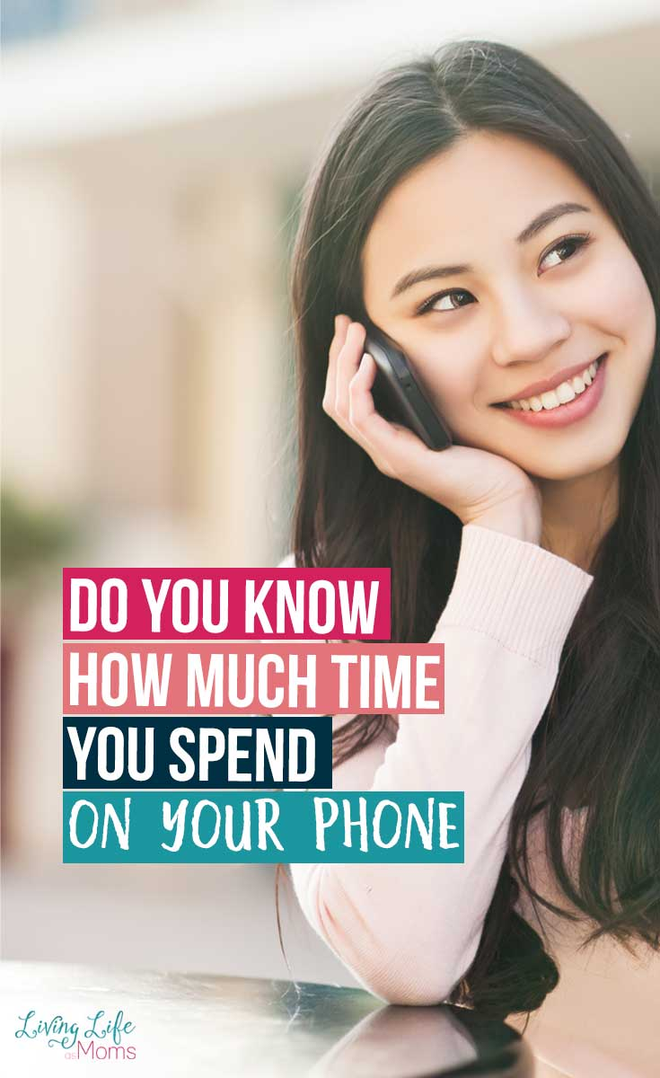 Do you know how much time you spend you spend on your phone?