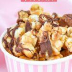 Delicious Snickers Popcorn Recipe